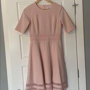 Calvin Klein Pink Dress As New